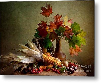 Autumn Colors Metal Print by Nailia Schwarz