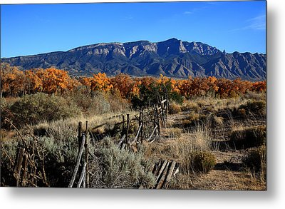 Autumn In New Mexico Metal Print by Anthony Sekellick