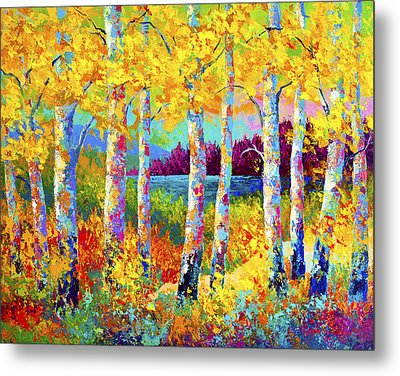 Autumn Jewels Metal Print by Marion Rose