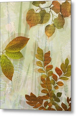Autumn Leaves-1 Metal Print by Nina Bradica