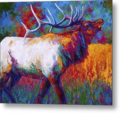 Autumn Metal Print by Marion Rose
