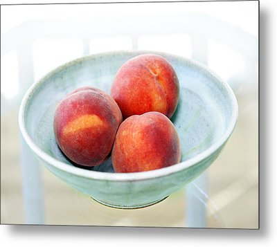Autumn Peaches Metal Print by Marilyn Hunt