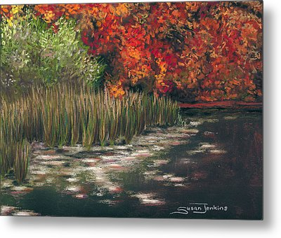 Autumn Pond Metal Print by Susan Jenkins