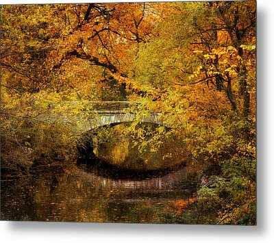 Autumn River Views Metal Print by Jessica Jenney