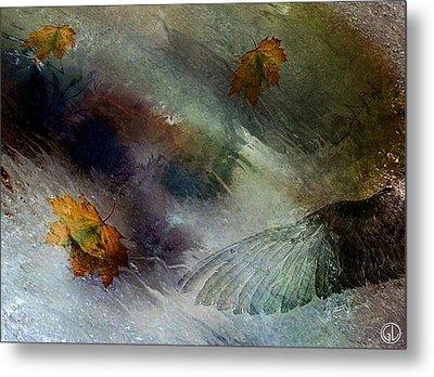 Autumn Storm Metal Print by Gun Legler