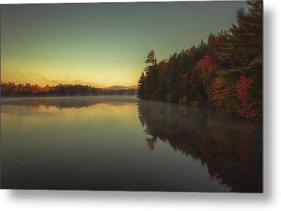 Autumn Sunrise Metal Print by Chris Fletcher