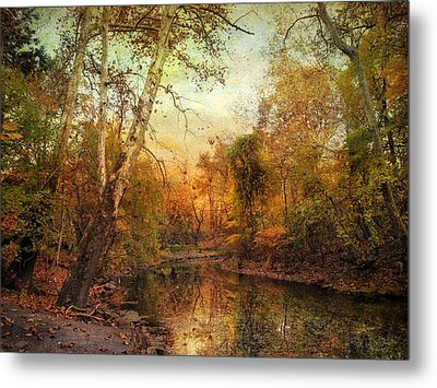 Autumnal Tones Metal Print by Jessica Jenney
