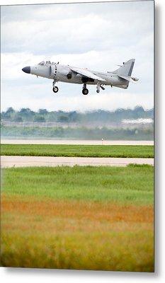 Av-8 Harrier Metal Print by Sebastian Musial