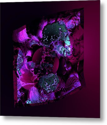 Aw 13 Lovers Hiding Metal Print by Claude McCoy