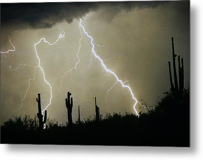 Az Desert Storm Metal Print by James BO  Insogna
