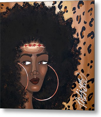 Azima Metal Print by Aliya Michelle