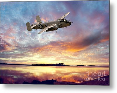 B25 Mitchell Metal Print by Stephen Smith