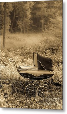 Babe In The Woods Metal Print by Edward Fielding