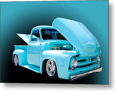 Baby Blue Metal Print by Jim  Hatch