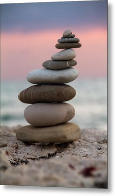 Balance Metal Print by Stelios Kleanthous