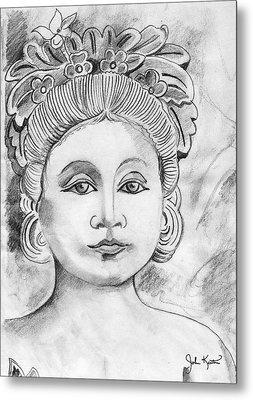 Balinese Princess Metal Print by John Keaton