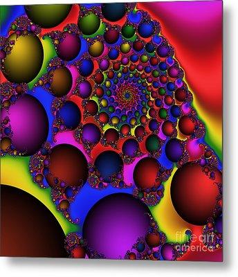 Ball Galaxy 203 Metal Print by Rolf Bertram