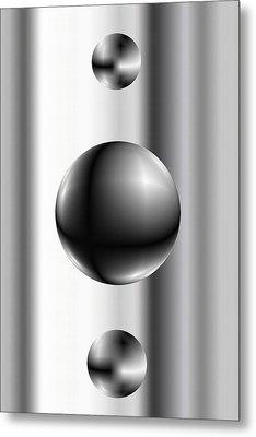 Ball Metal Print by James Eugene Albert