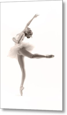 Ballerina Metal Print by Steve Williams