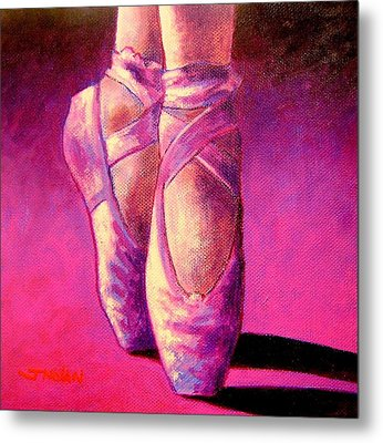 Ballet Shoes  II Metal Print by John  Nolan