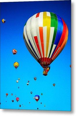 Balloon Festival Metal Print by Juergen Weiss