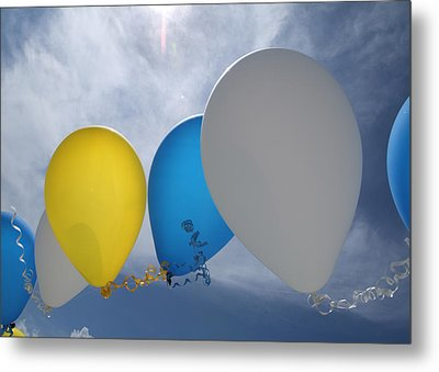 Balloons Metal Print by Patrick M Lynch
