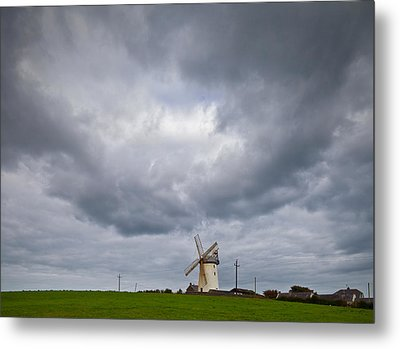 Ballycopeland Windmill, Built Circa Metal Print by Panoramic Images