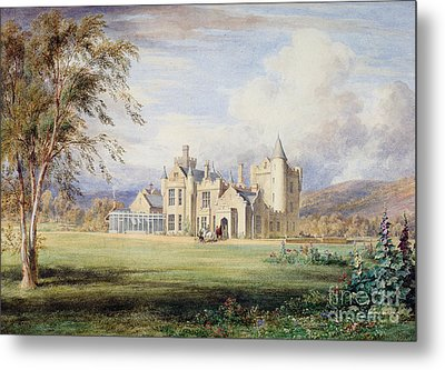 Balmoral Castle Metal Print by James Giles