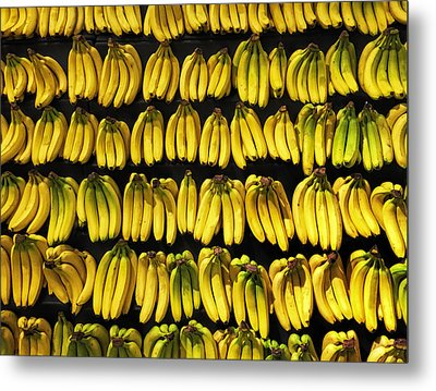 Bananas Metal Print by Andrew Soundarajan