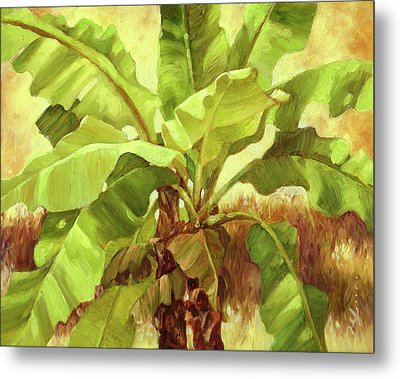 Bananas At Casa Cielo Metal Print by Monica Linville