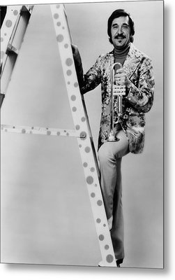 Band Leader Doc Severinson 1974 Metal Print by Mountain Dreams