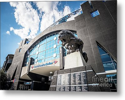 Bank Of America Stadium Carolina Panthers Photo Metal Print by Paul Velgos