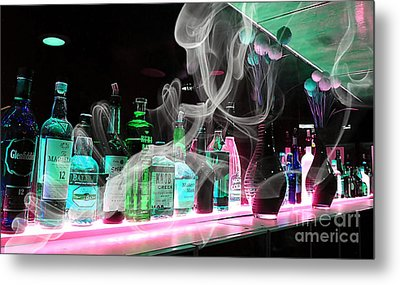 Bar Collection Metal Print by Marvin Blaine