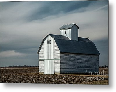 Barn Metal Print by Timothy Johnson