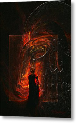 Barter For Your Soul Metal Print by Jean Gugliuzza