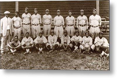 Baseball: Negro Leagues Metal Print by Granger