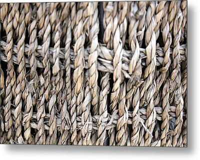 Basket  Metal Print by Amanda St Germain