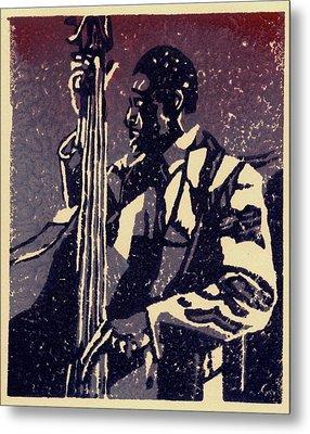 Bass Metal Print by John Brisson