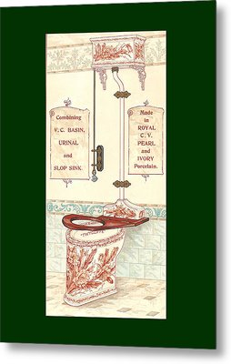 Bathroom Picture Five Metal Print by Eric Kempson