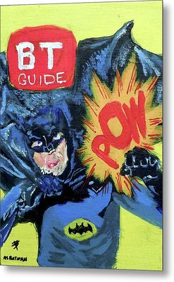 Batman Day 15 Metal Print by B T