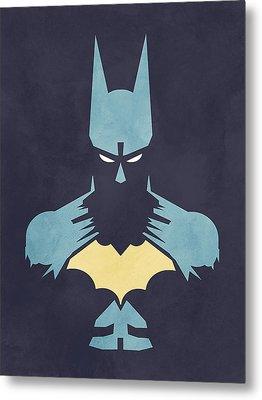 Batman Metal Print by Jason Longstreet
