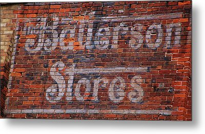 Batterson Stores Metal Print by Jame Hayes