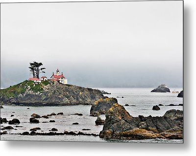 Battery Point Lighthouse California Metal Print by Christine Till