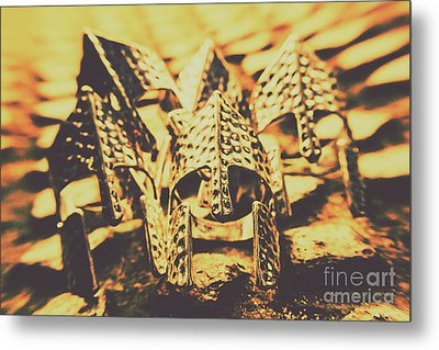 Battle Armoury Metal Print by Jorgo Photography - Wall Art Gallery