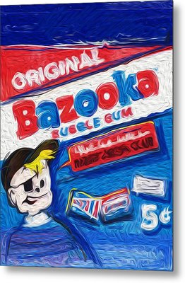 Bazooka Joe Metal Print by Russell Pierce