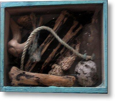 Beach Box I Metal Print by Adam Kissel