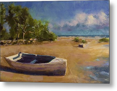 Beached Metal Print by David Patterson