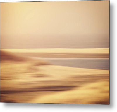 Beachscape Metal Print by Wim Lanclus
