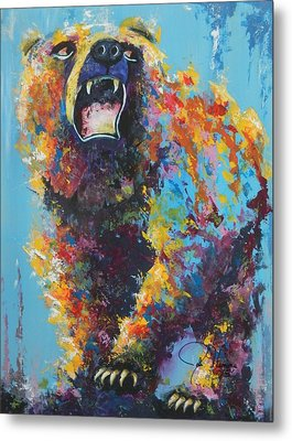 Bear Market C Metal Print by John Henne