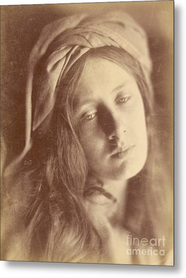 Beatrice Metal Print by Julia Margaret Cameron